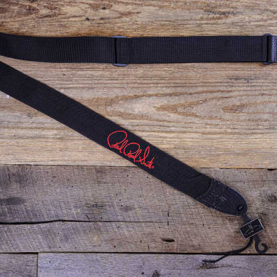 """PRS Signature Logo 2"""" Poly Guitar Strap Red ACC-3171"""