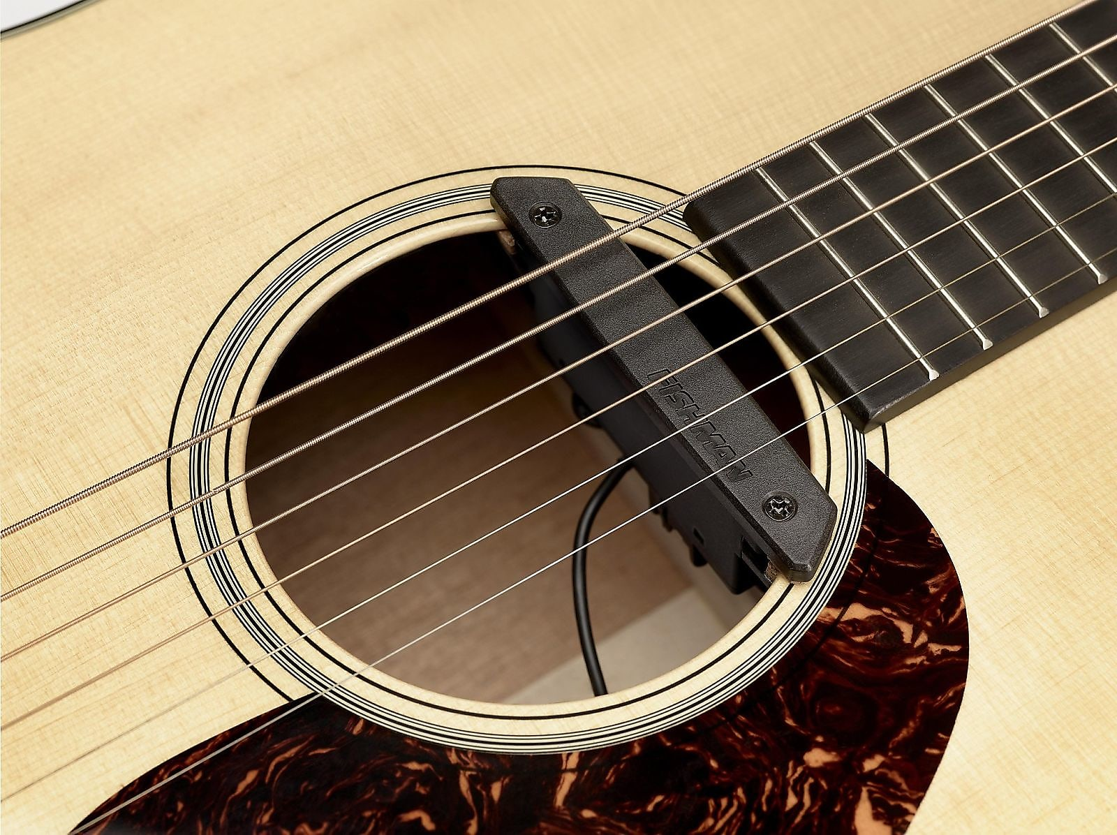 Fishman PRO-REP-102 Rare Earth Humbucking Active Acoustic Guitar Soundhole Pickup