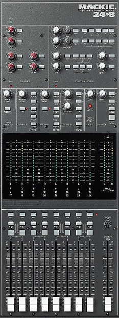 mackie 32 8 analog 8 bus mixing console with power supply reverb. Black Bedroom Furniture Sets. Home Design Ideas