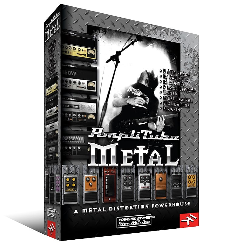 ik multimedia amplitube 4 metal duo bundle guildwater gear reverb. Black Bedroom Furniture Sets. Home Design Ideas