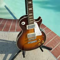 1974 Penco LP tobacco lawsuit guitar in excellent condition / playability and tone is incredible for sale