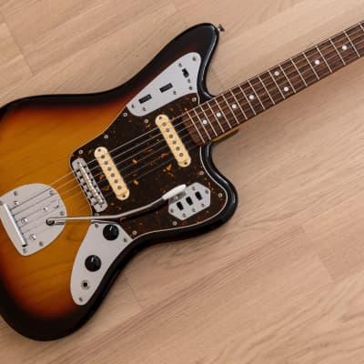 2013 Fender Jaguar '62 Vintage Reissue Offset Guitar JG66 Sunburst Near Mint, Japan MIJ