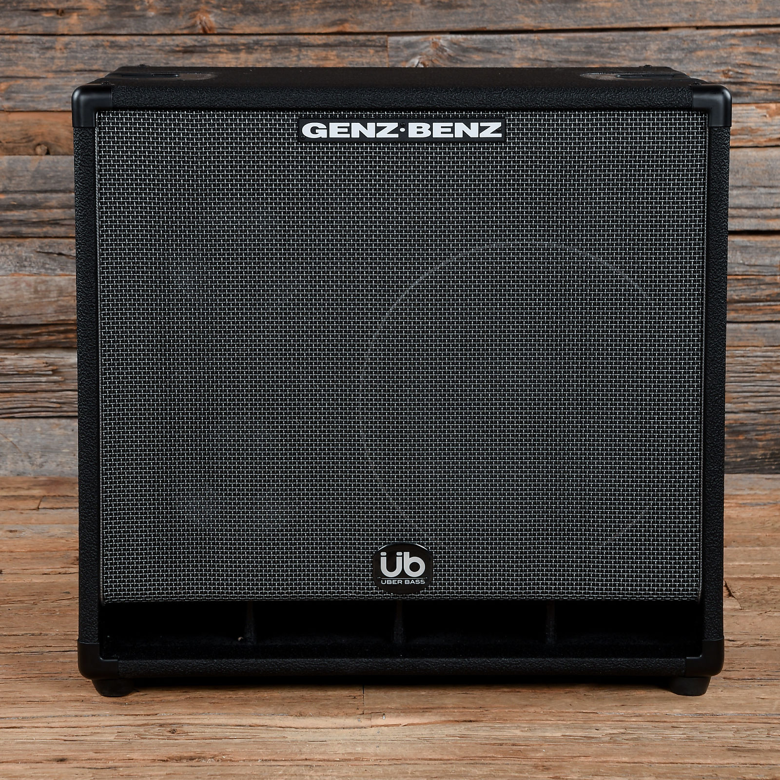 Genz Benz Uber Quad Gb 1288t Uq Bass Cabinet Used S672