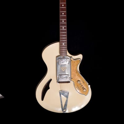 Wandre Teenanger Pickguard Gold 1960's White for sale