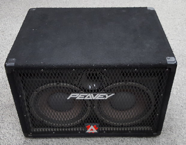 Peavey 210 TXP 2x10 Bass Cabinet Black Carpeted | Reverb