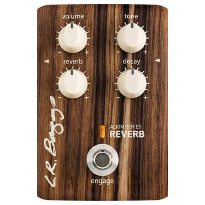 L.R. Baggs Align Series Reverb Acoustic Guitar Effects Pedal Open Box Mint