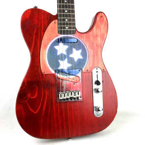 Alden Rawcaster 2018 - Red/TN State Flag for sale