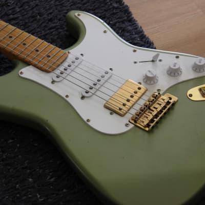 Fern Evergreen Stratocaster 2020 Fern Green/Pelham Blue for sale
