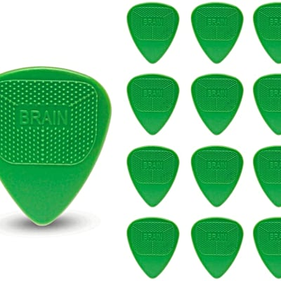 Snarling Dogs Brain Guitar Picks Nylon Green .53mm 13 picks  Green