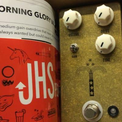 JHS Morning Glory V4 Transparent Overdrive Pedal