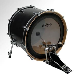 Evans 22 Inch EMAD Batter Clear Drum Head