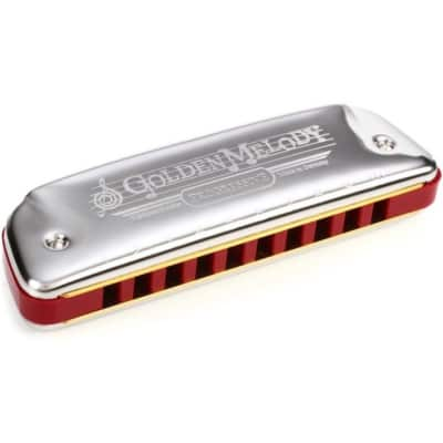 Hohner 542PBX-A Harmonica Golden Melody Key of A