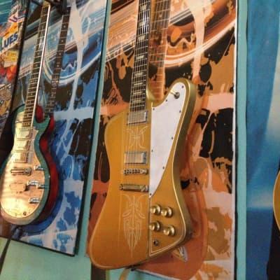 Kauer Banshee 2010 gold/pinstriped Firebird for sale