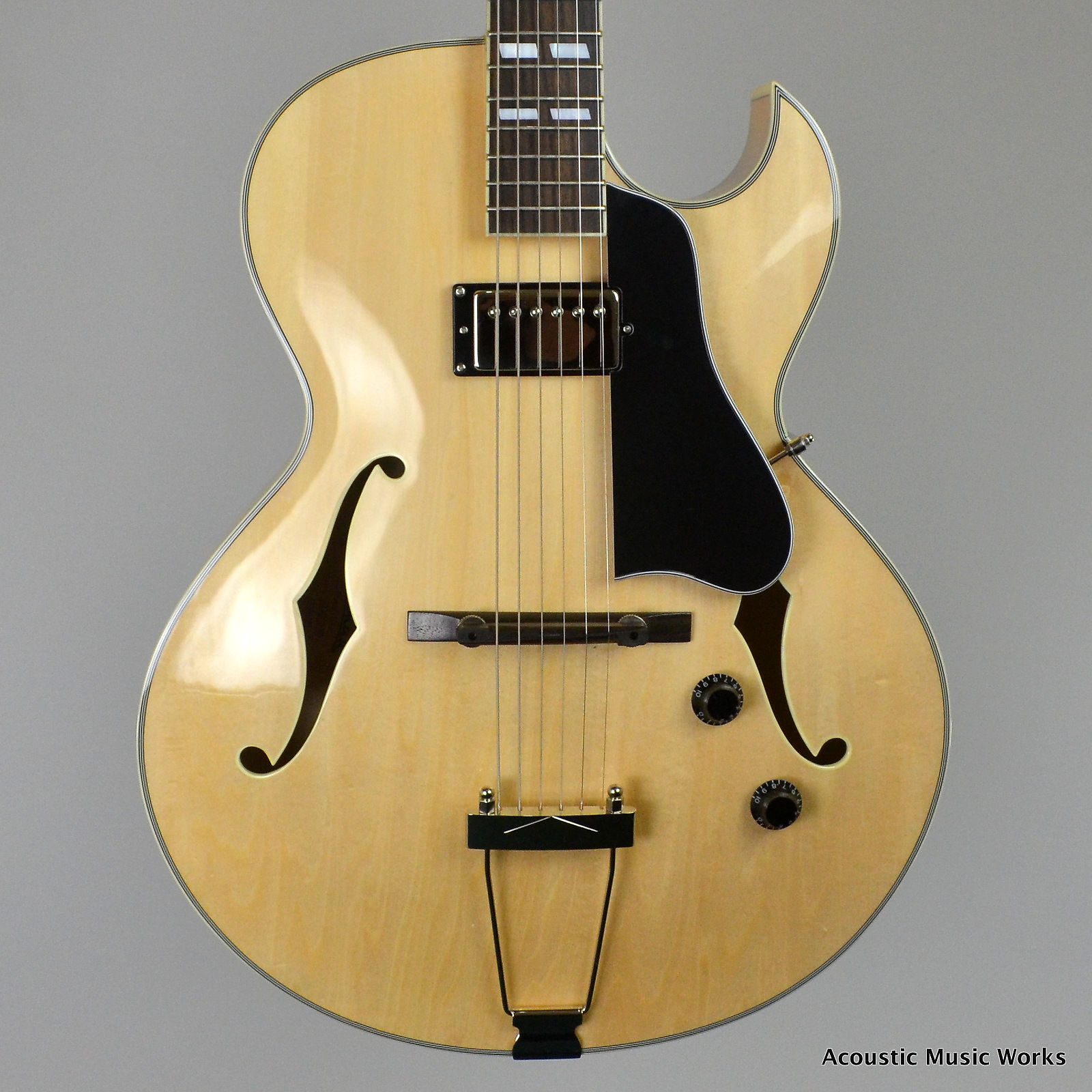 eastman ar371ce bd archtop guitar single humbucker. Black Bedroom Furniture Sets. Home Design Ideas