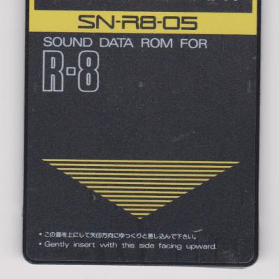 Roland SN-R8-05 Jazz R-8 Expansion Card