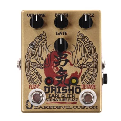 Daredevil Pedals Daisho Earl Slick Signature Fuzz and Octave