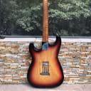 Mario Martin S Style 1 piece body, AAAA Roasted Flame Maple  ULTRA LIGHT! Strat KILLER 1958 style