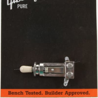 Gibson Straight Switch with Creme Cap
