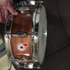 Barton Maple snare 2017 Vintage Mahogany