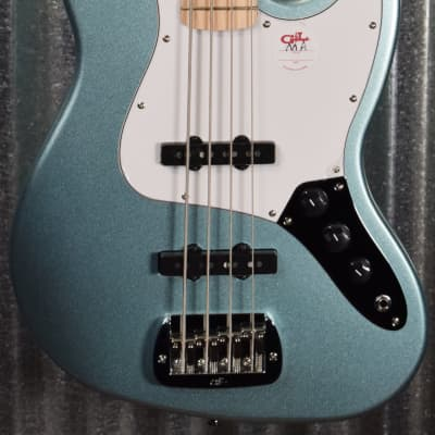 G&L Guitars Tribute JB 4 String Jazz Bass Seafoam Pearl Green Demo #1602