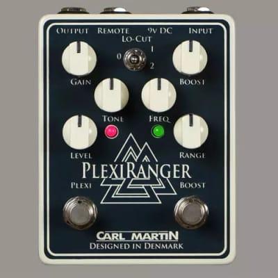 Carl Martin PlexiRanger overdrive, treble booster guitar pedal New Model