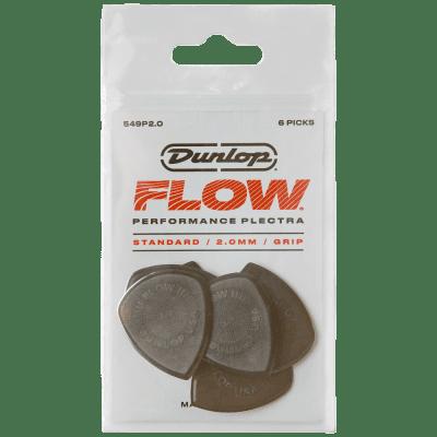 Dunlop Flow Standard Picks 6-Pack, 549P - 2.0