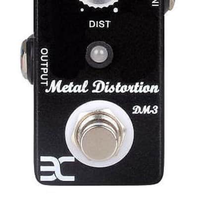 ENO DM-3 EX Micro Distortion Guitar Effect Pedal Vintage / Turbo Modes True Bypass
