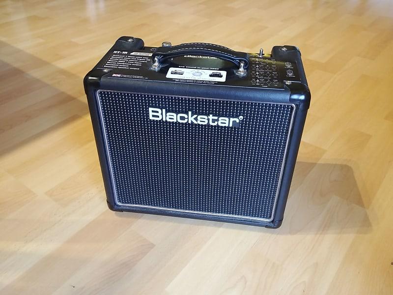 blackstar ht 1r 1 watt 1x8 guitar combo amp with reverb reverb. Black Bedroom Furniture Sets. Home Design Ideas