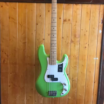 Fender Limited Edition Player Series Precision Bass - Electron Green *Only 200 Made! for sale