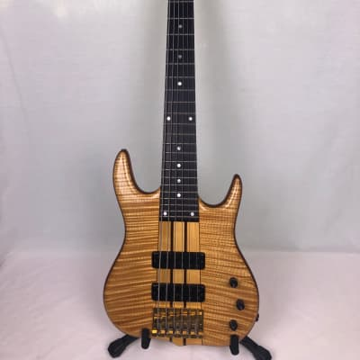 Ken Smith BT Custom 6G, 6-String Bass Guitar, 1989 Natural, Serial Number 89511 for sale