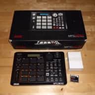 "Custom Akai MPC 500 ""Blacked Out"" 128MB RAM & CF Card w/Original box & AC adapter"