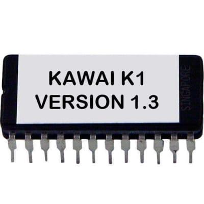Kawai K1 firmware Latest OS Version 1.3 update upgrade EPROM