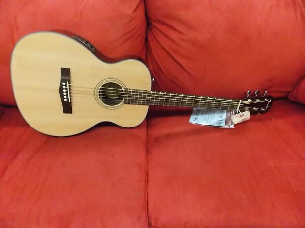 f8e2d7f7e1 Fender CT140SE Travel Acoustic electric Guitar Natural   Reverb