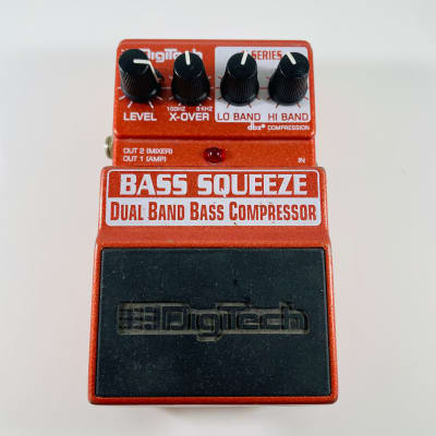 DigiTech Bass Squeeze Dual Band Bass Compressor Pedal *Sustainably Shipped*