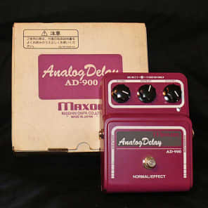 Maxon AD-900 Analog Delay 1998? Crimson for sale