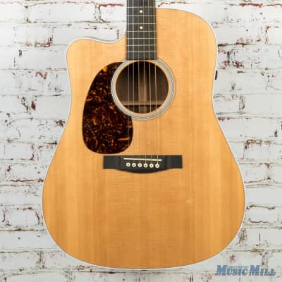 2013 Martin DCPA4 Rosewood Lefty Acoustic Electric Natural w/OHSC (USED) image