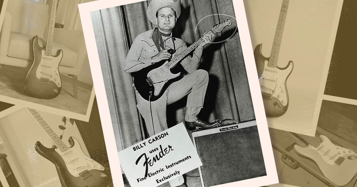 Interview: The Man Leo Fender Trusted to Test the Stratocaster   Bacon's Archive