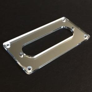 Guitar Parts CONVERSION PICKUP MOUNTING RING Humbucker Single Coil - CHROME MIRROR