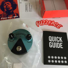 Dunlop Jimi Hendrix Fuzz Face Mini FFM3 - 2017 - Mint New - Free Priority Shipping!