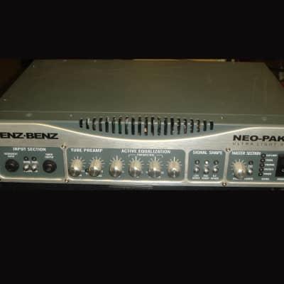 Genz Benz Neo-Pak 3.5 Ultra Light Design - 350 WATT Hybrid Bass Guitar Amplifier for sale
