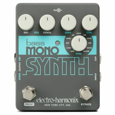 Electro Harmonix Bass Mono Synth Effects Pedal for sale