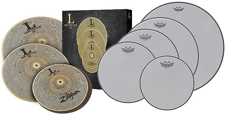 zildjian quiet pack low volume accessory package l80 reverb. Black Bedroom Furniture Sets. Home Design Ideas