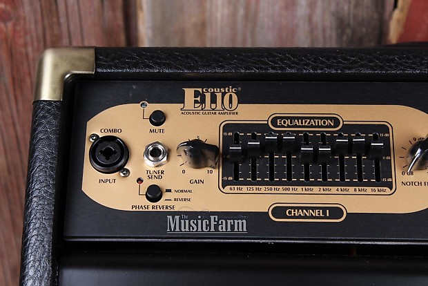 peavey ecoustic 110 efx acoustic guitar combo amplifier 2 reverb. Black Bedroom Furniture Sets. Home Design Ideas