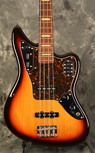 fender jaguar bass sunburst made in japan w active preamp, | reverb
