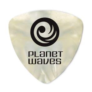 Planet Waves 2CWP4-25 Celluloid Guitar Picks  - Medium, Wide Shape (25-Pack)