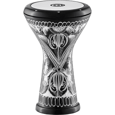 Meinl HE-3018 Hand Engraved Aluminum Doumbek with Synthetic Head
