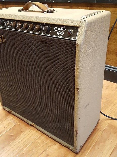 1960 Fender Concert Amp 6G12 A Fully Refurbished Gig Ready