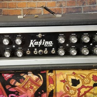 Kasino Club Mixer U100-P 1966 Black Guitar Bass for sale