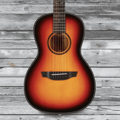 Orangewood Florence 3-Tone Sunburst Solid Top Spruce Parlor Acoustic Guitar for sale