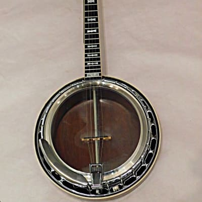 Gibson  RB-250 Archtop Bowtie w D tuners 5-String Banjo 1969 Sunburst w Lifton Case As IS for sale